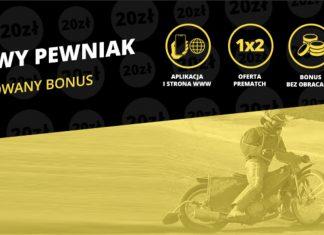 Żużlowy Pewniak. Fortuna daje 20 PLN swoim graczom!