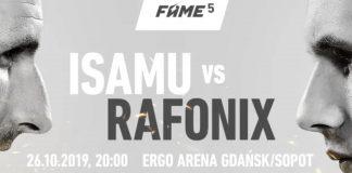 Godlewska, Najman, Rafonix, Bonus BGC - karta walk i obstawianie FAME MMA 5!